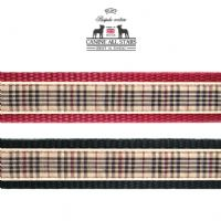 DOG LEAD - AUTHENTIC SCOTTISH BLACKBERRY TARTAN